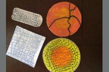 Crackled Plates